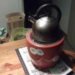 火鉢でSOS