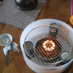 バケツの火鉢