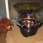 茶香炉として使っています。