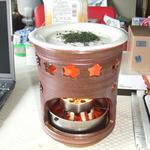 福岡の一ノ瀬焼きで作った特注の大型茶香炉です。