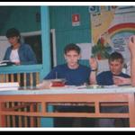 """Ищенко Ю, КАсьянов Е., Логинов А. - победители областного конкурса """"Юный эколог"""",2004"""