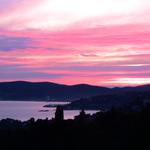 Ausblick über die Bucht von Saint Tropez