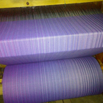 MADALO Cacahuamilpa Lila - baby wrap - Handgewebtes Babytragetuch - the loom