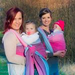 MADALO Tragetuch - Handgewebtes Tragetuch für Babies