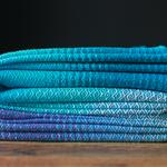MADALO Pablo Azul - baby wrap - Handgewebtes Babytragetuch
