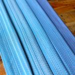 MADALO Cacahuamilpa Azul - baby wrap - Handgewebtes Babytragetuch