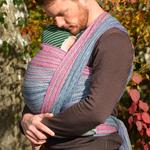 MADALO Taxco Negro - baby wrap - Handgewebtes Babytragetuch