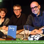 """Als Jury-Mitglied bei """"Rock gegen Hunger"""" in Düsseldorf."""