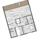 Beispielgrundriss Penthouse