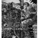 Rowerzysta I etching 1966 95 x  72    sold