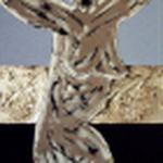 ABBRACCIAMI 2, 50X120CM, MATERIALE VINILICO/ACRYL AUF LEINWAND, VERKAUFT