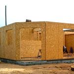 Maison ossature bois contreventement OSB