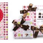 イーグル製菓 2015バレンタイン商品 カタログ表紙柄、包装紙柄デザイン