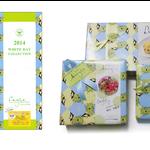 イーグル製菓 2014ホワイトデー商品 カタログ表紙柄、包装紙柄デザイン