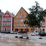 Der Marktplatz in Ellwangen
