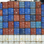 Containers Red Blue