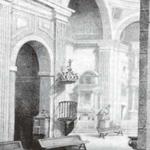 1888 Interior de la iglesia de La Compañía