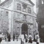 ¿Año? Comienzo de la Calle de La Compañía, con la iglesia del mismo nombre, desde la Plaza Vieja