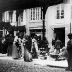 """1889 La """"Pescadería de Atarazanas"""" (derribada a comienzos del siglo XX)"""