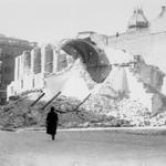1936 Derribo de la Iglesia de San Francisco desde Isabel II