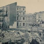 1941 Ruinas de la Calle del Rincón desde el este