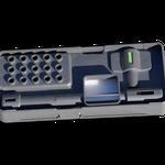 Design Dispergier-Werkzeug Aufbewahrungsbox mit Montagewerkzeug und Kurzanleitung  >> Design toolbox IKA disperser shafts