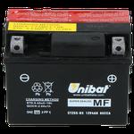 Unibat Wartungsfrei CTZ5S-BS (12 V 4 AH) (50314), Maße in mm :(LxBxH) 113x70x85, Gewicht : 1,3 kg, Batterieleistung im kalten Zustand(CCA): 65
