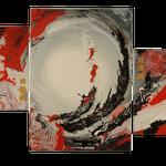 circle of life, Größe 130 x 70 cm, vergeben - Sylvio Zornsch