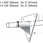 Rotasystem Neptronic SAM Dampflanze Maße