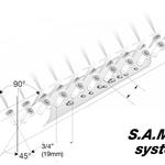Rotasystem Neptronic SAM E2 Dampflanze Funktion