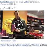 Selbst der Neuzeitschamane Marc Kettenbach hat sich persönlich eine Version im Buchhandel geholt.
