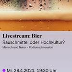 Biersommelier.Berlin zum Live Talk in der Urania - Karsten Morschett - virtuelle Bierverkostung