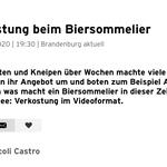 virtuelles Biertasting und live Bierverkostung - biersommelier.berlin - Biersommelier Karsten Morschett - rbb