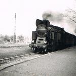 Cieplice Śl.- pociąg do Szklarskiej Poręby z TKt48-66 ze zb. A.Homana