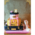 Sweet Eightteen Years taart,Fashion Cake, High Heel Cake, Demi,taart Den Bosch