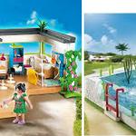 EI173 Vakantiehuis met zwembad Playmobil