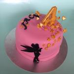 Tinkerbell taart