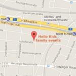 Hello Kids Lageplan