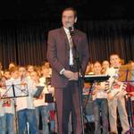 Bei der Winterfeier 2006