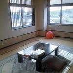眺めが美しい和室。田園風景が一望できて落ち着きます。