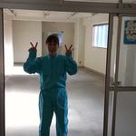 友人の室美香さん。ヨガインストラクターであり、2級建築士であり、ラジオのDJでもあります。大変興味深い方です。