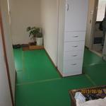 搬出の際、床を傷つけないよう、床もしっかり養成します。