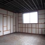 解体後の個室