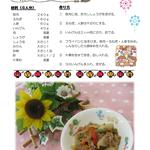 8月 豚肉の甘酢炒め