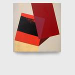 Red Fold. 42,5 x 42,5 cm. Acrílico sobre tela. 2016