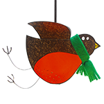 Robin Red Breast 3D Bird Greeting Card