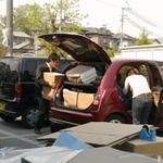 荷物運び作業