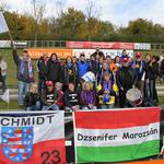 Fanclub beim Auswärtsspiel in Duisburg