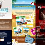 Promotion-Konzepte für De'Longhi, sky, dtv, im Auftrag der adOne Werbeagentur