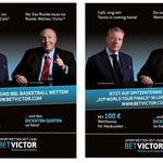 Kampagnen-Konzept für BETVICTOR, im Auftrag der ANKOMM Werbeagentur